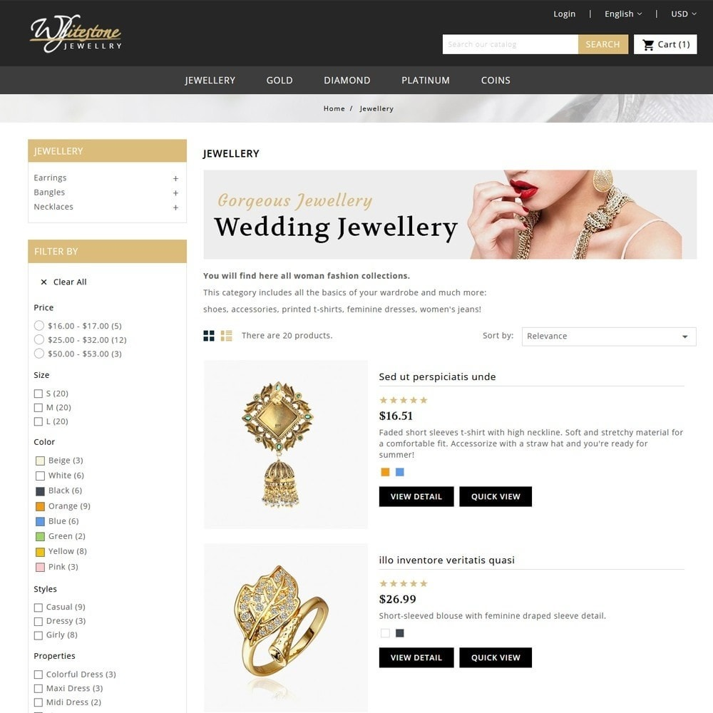 theme - Jewelry & Accessories - Whitestone Jewellery Store - 4