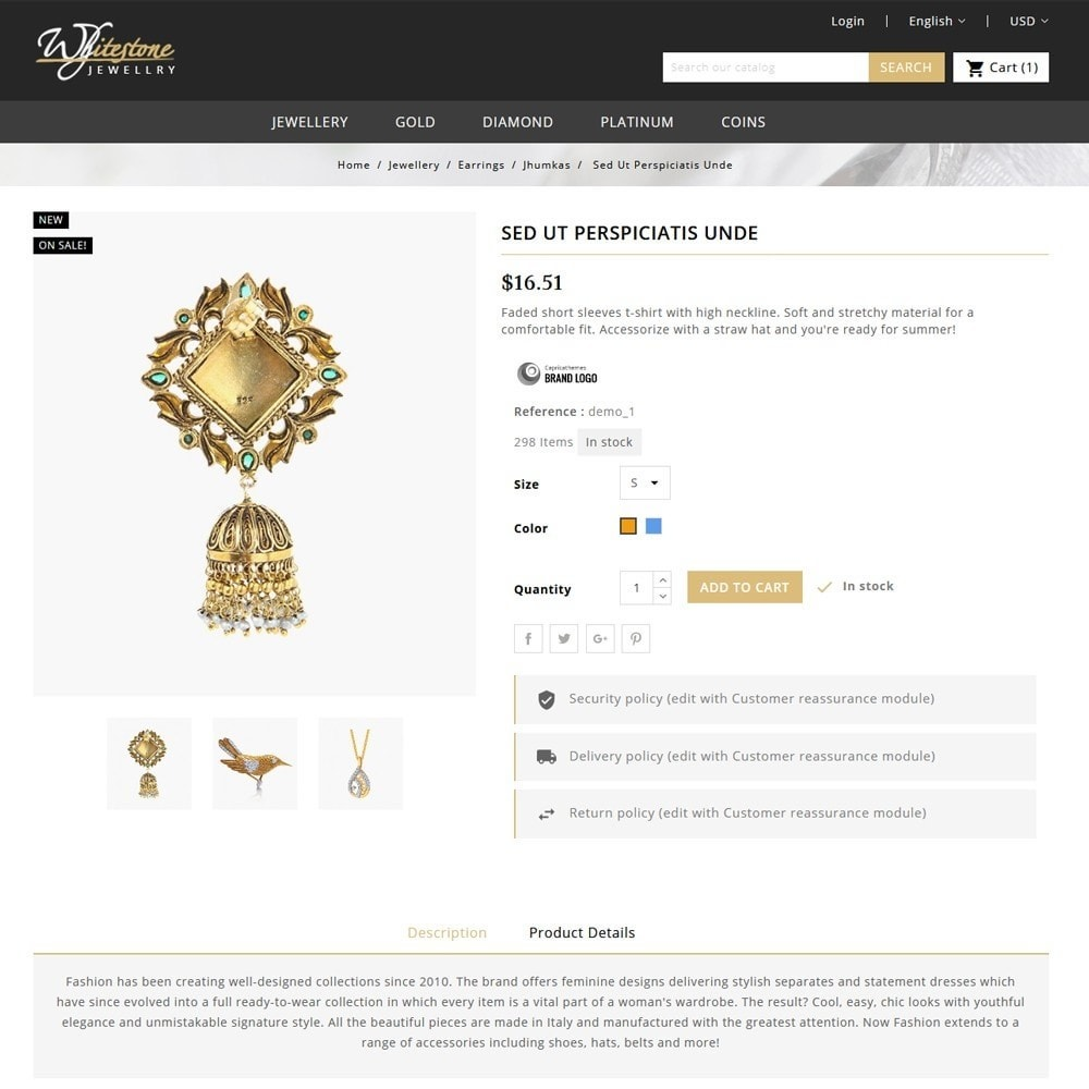 theme - Jewelry & Accessories - Whitestone Jewellery Store - 5