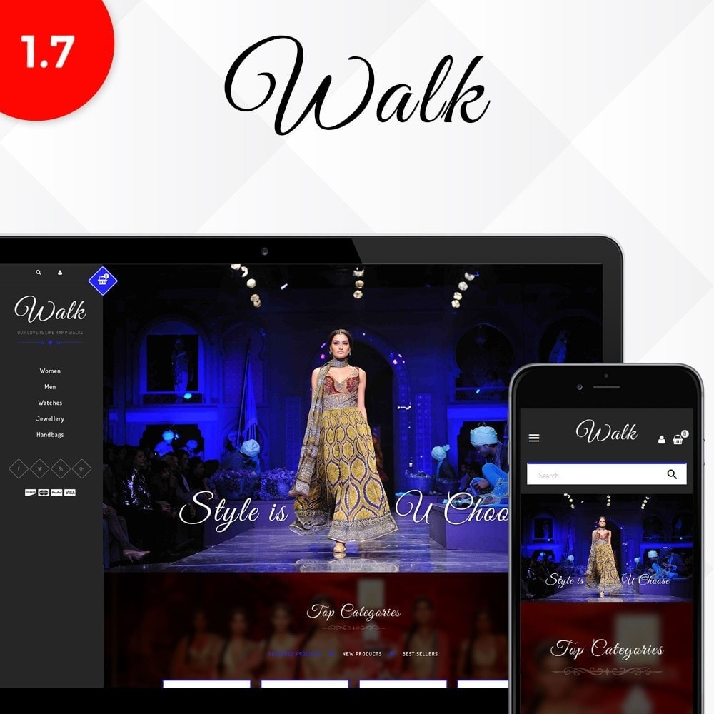 theme - Mode & Chaussures - Walk Store - 1