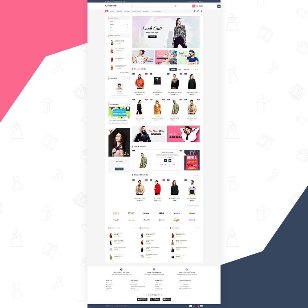 theme - Fashion & Shoes - Awesome – Fashion Super Store v3 - 2
