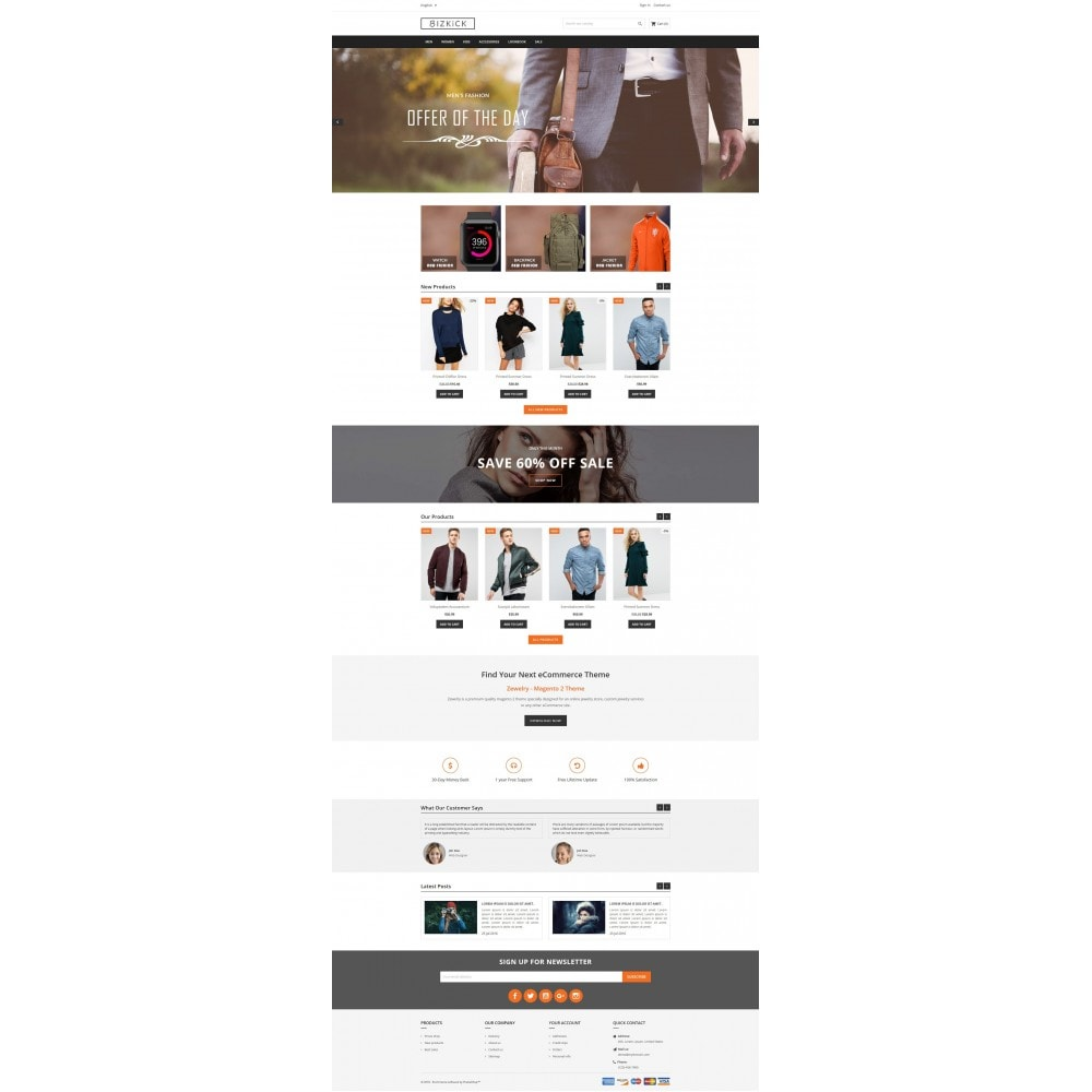 theme - Мода и обувь - BizKick – Fashion Store - 4