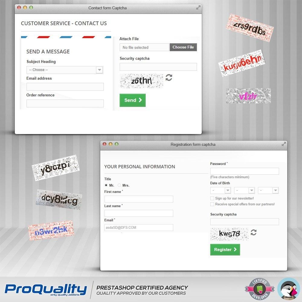 module - Bezpieczeństwa & Dostępu - CAPTCHA Pro - 3