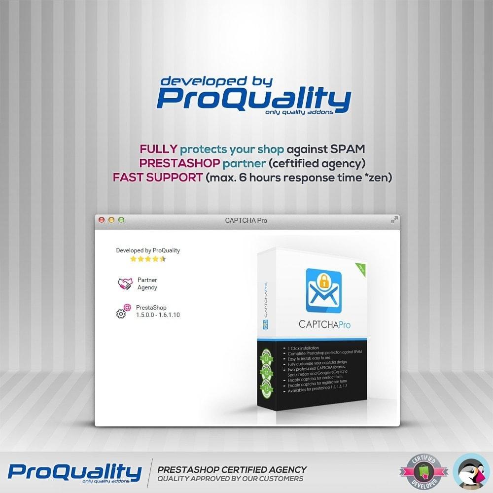module - Bezpieczeństwa & Dostępu - CAPTCHA Pro - 4