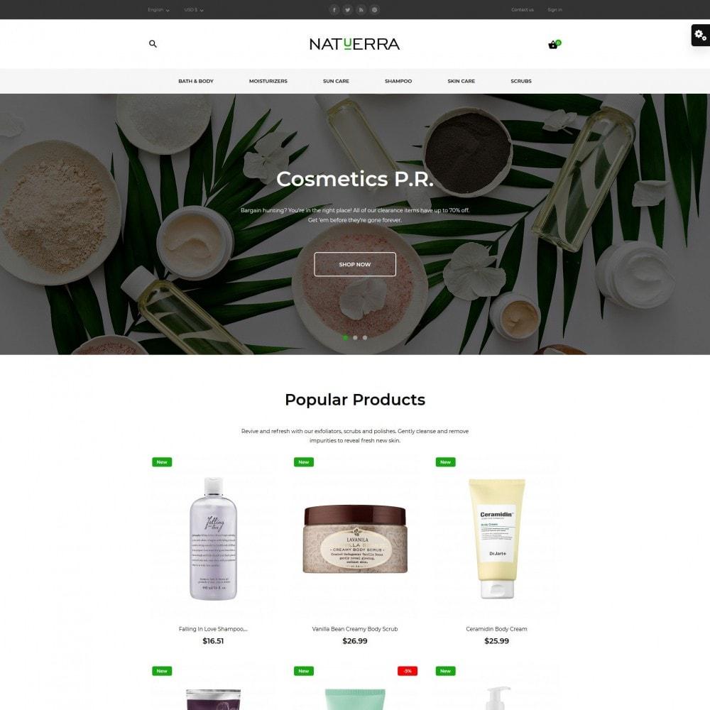 theme - Salute & Bellezza - Natuerra Cosmetics - 2