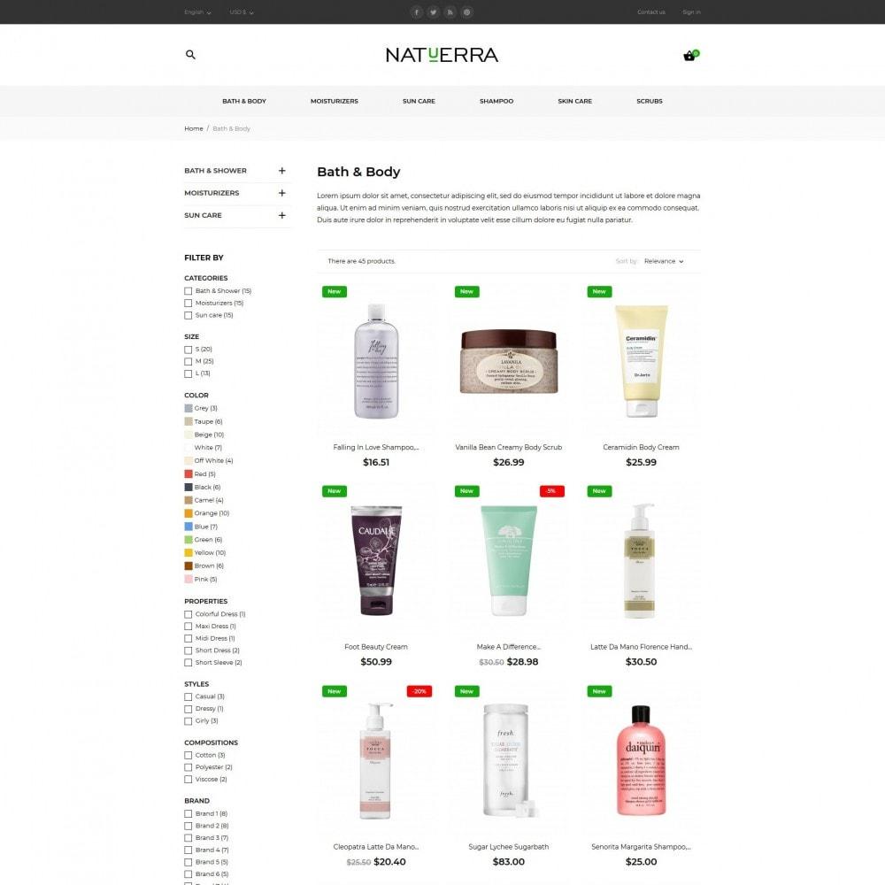 theme - Zdrowie & Uroda - Natuerra Cosmetics - 7