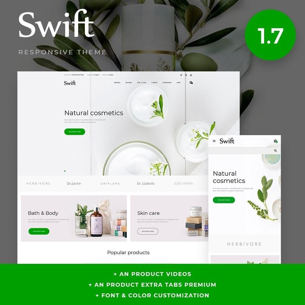 theme - Saúde & Beleza - Swift Cosmetics - 1