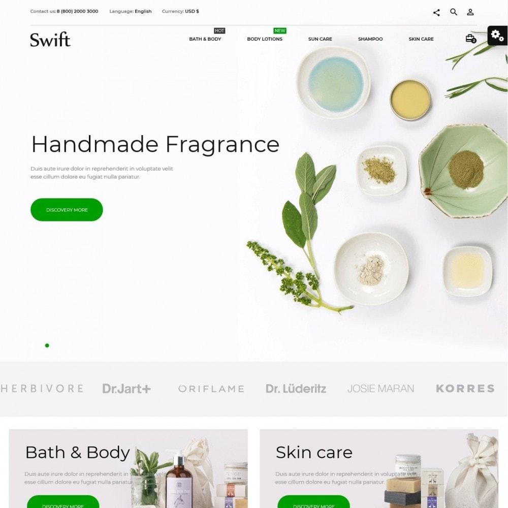 theme - Saúde & Beleza - Swift Cosmetics - 2