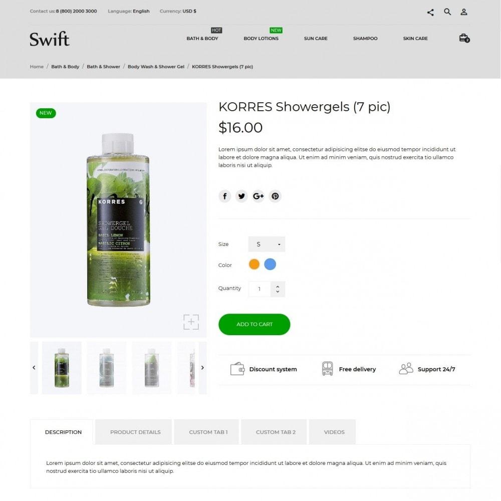 theme - Gezondheid & Schoonheid - Swift Cosmetics - 6