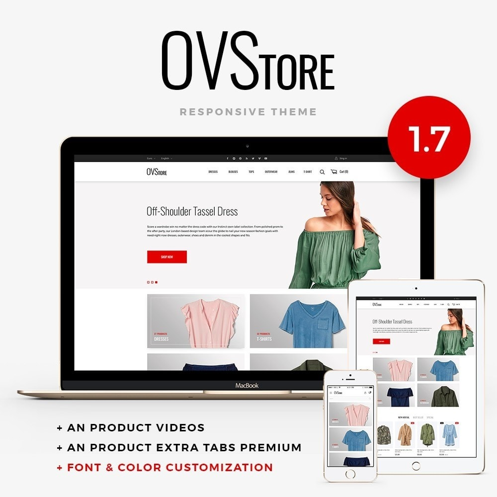 theme - Moda & Calzature - OVStore Fashion Store - 1