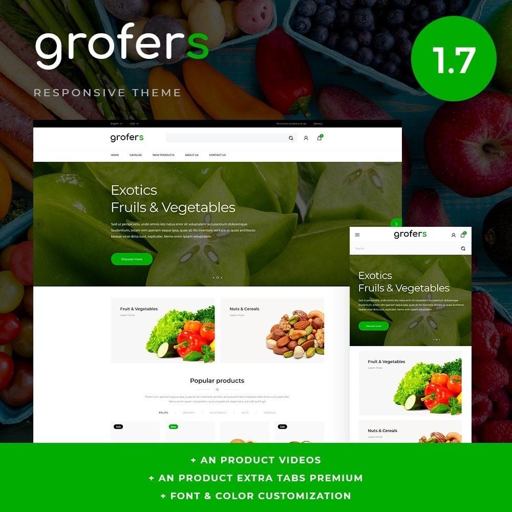 theme - Cibo & Ristorazione - Grofers - 1