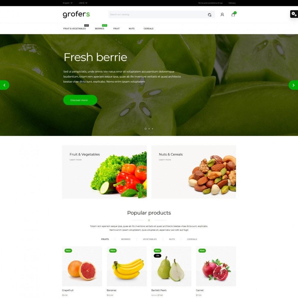 theme - Gastronomía y Restauración - Grofers - 2