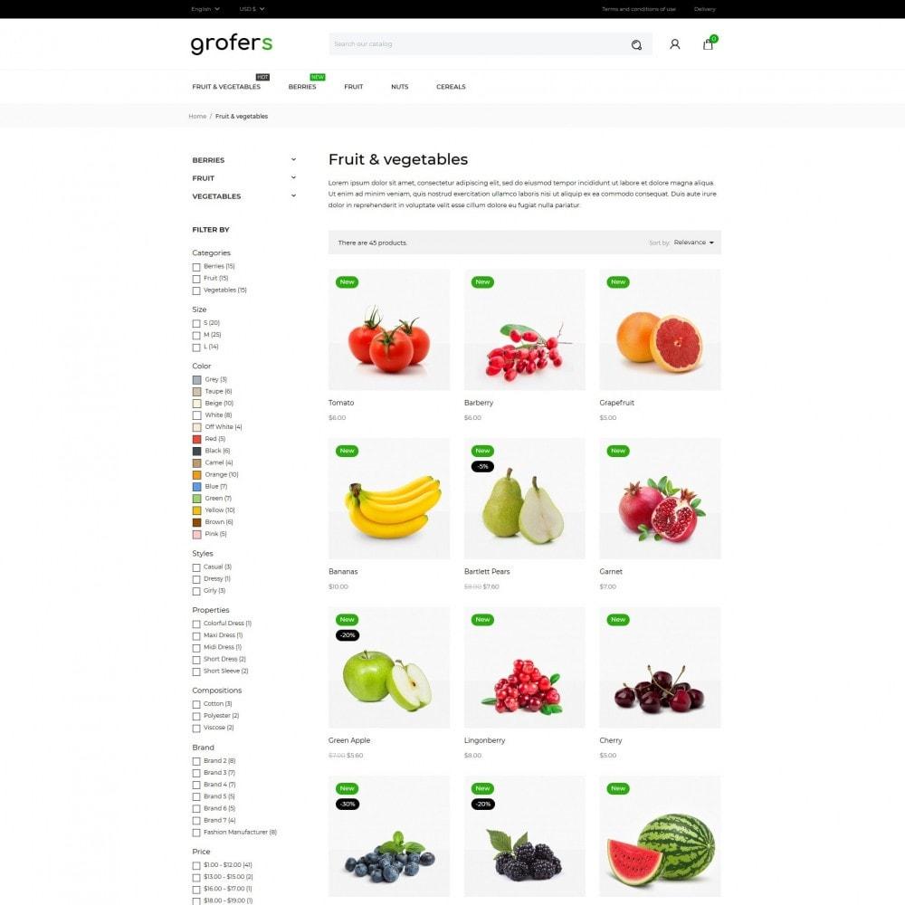 theme - Gastronomía y Restauración - Grofers - 5