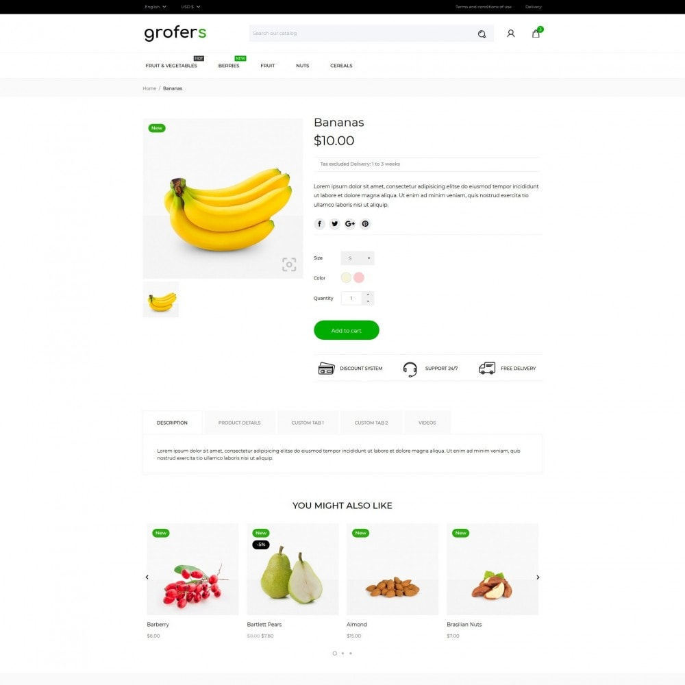 theme - Gastronomía y Restauración - Grofers - 6