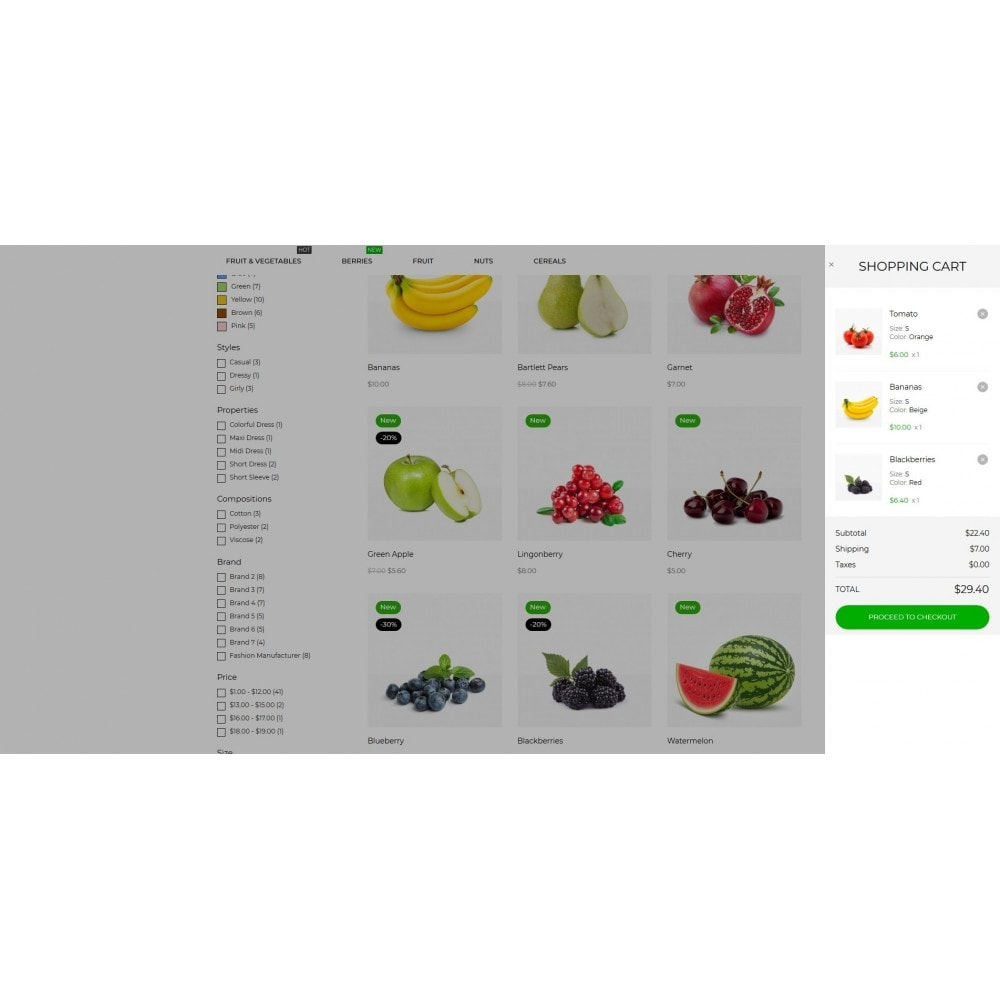 theme - Gastronomía y Restauración - Grofers - 11