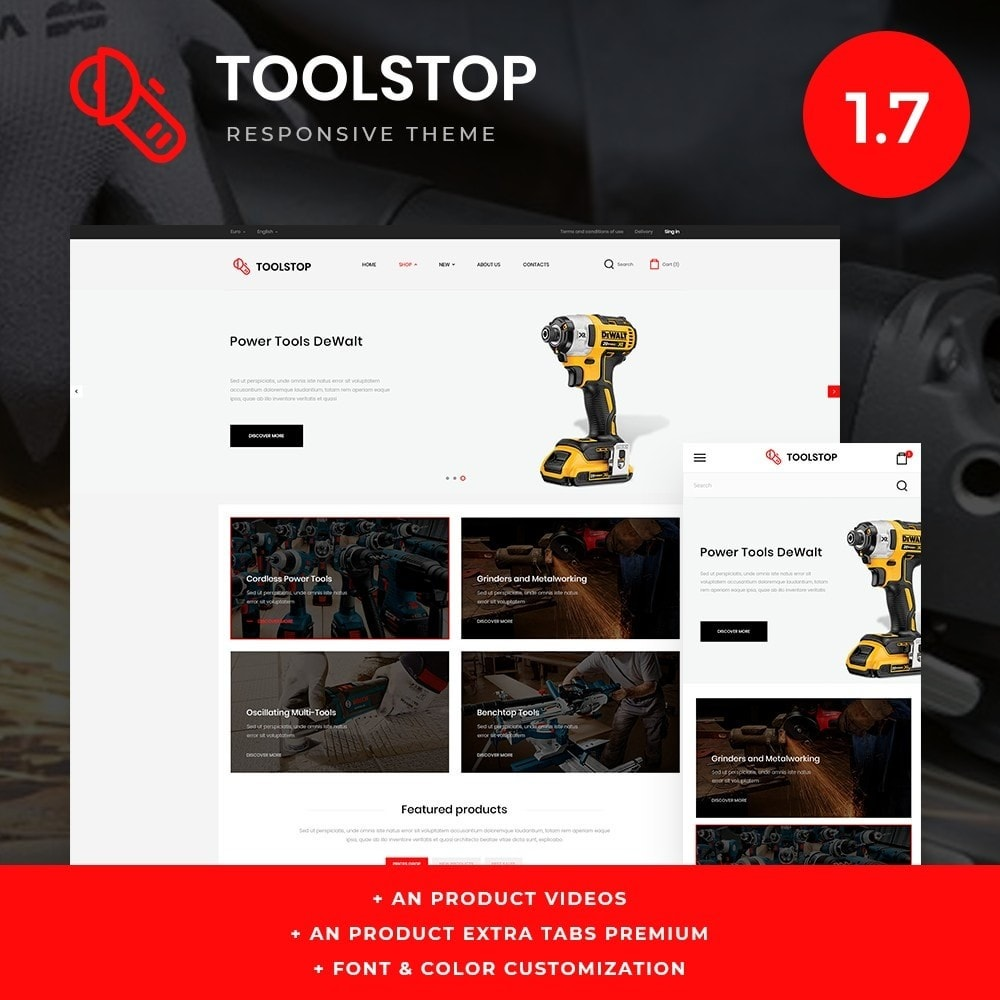 theme - Elektronika & High Tech - Toolstop - 1