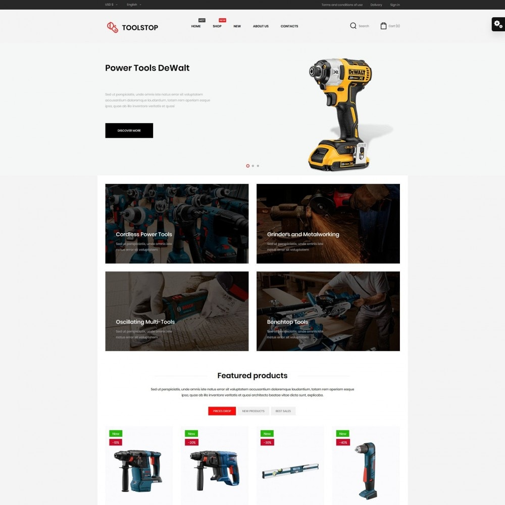 theme - Elektronika & High Tech - Toolstop - 2