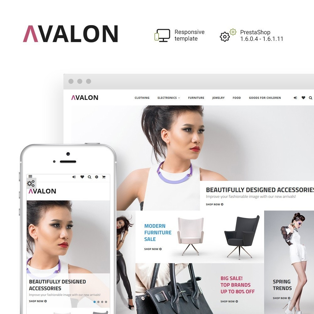 theme - Mode & Chaussures - Avalon - Wholesale Store - 1