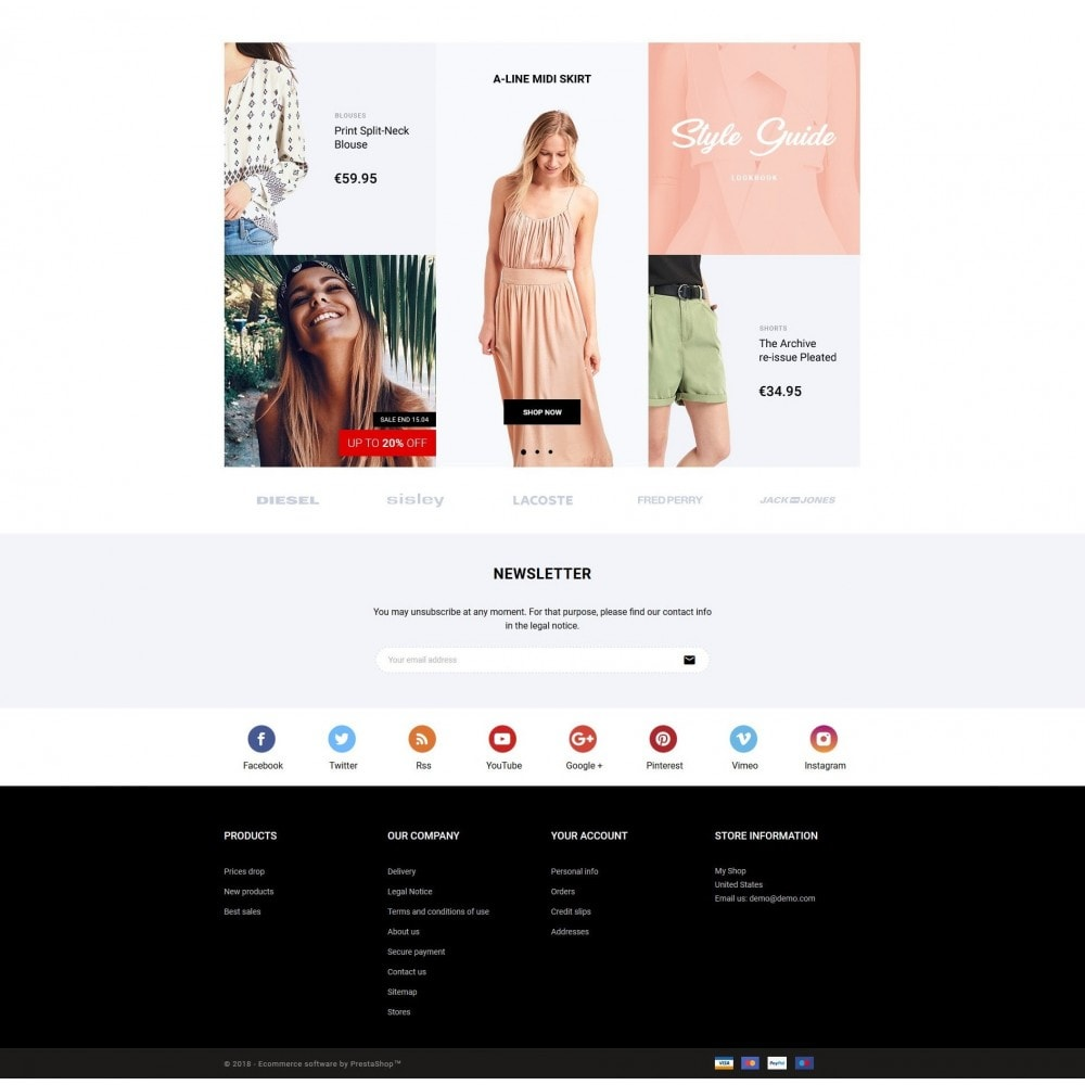 theme - Мода и обувь - BZB Fashion Store - 3