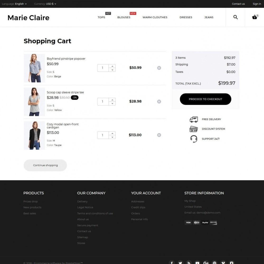 theme - Fashion & Shoes - Marie Claire Fashion Store - 11