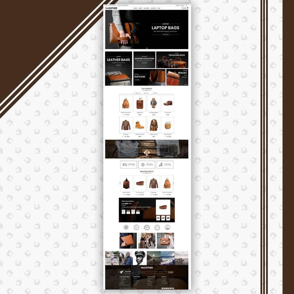 theme - Moda y Calzado - Leather Style Shop - 2