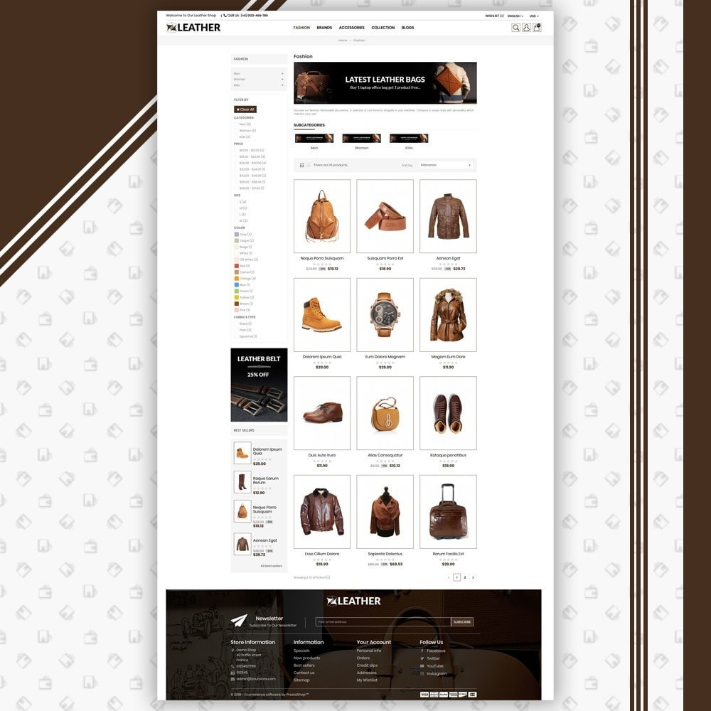 theme - Moda y Calzado - Leather Style Shop - 3