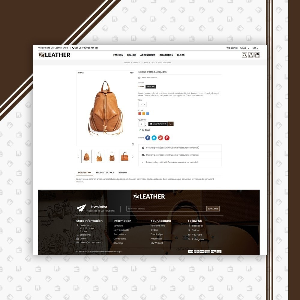 theme - Moda y Calzado - Leather Style Shop - 5