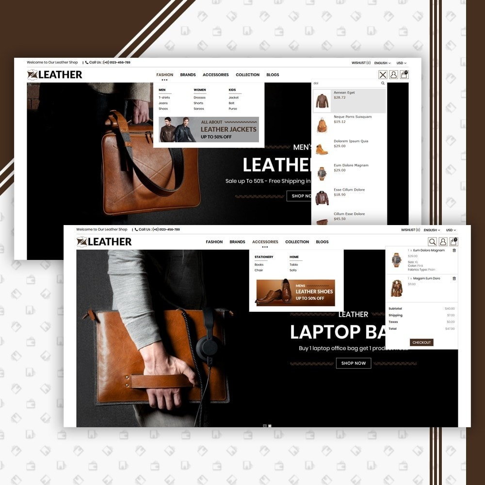 theme - Moda y Calzado - Leather Style Shop - 6
