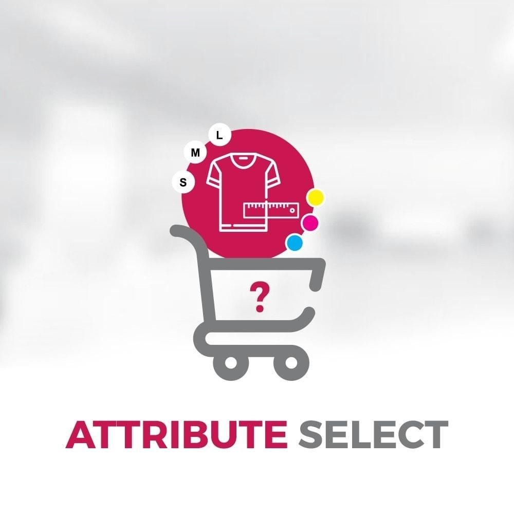 module - Bundels & Personalisierung - Attribute Select - 1