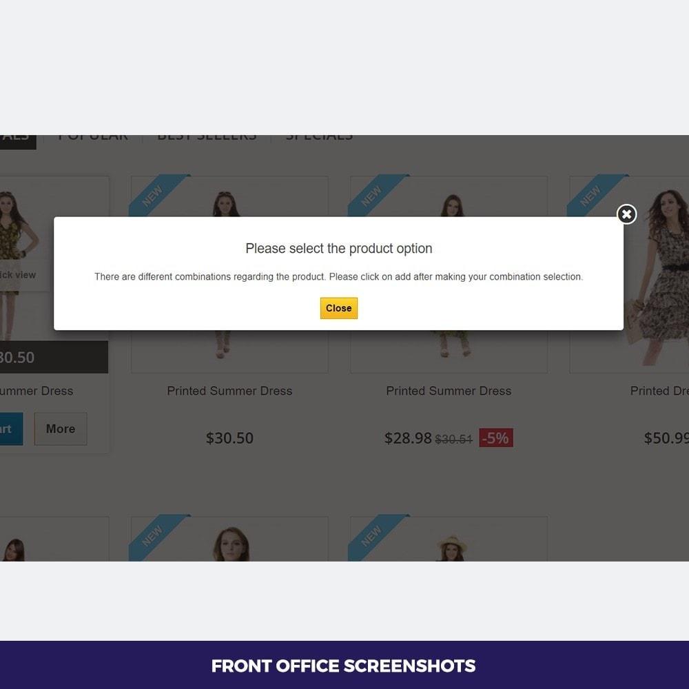 module - Bundels & Personalisierung - Attribute Select - 3