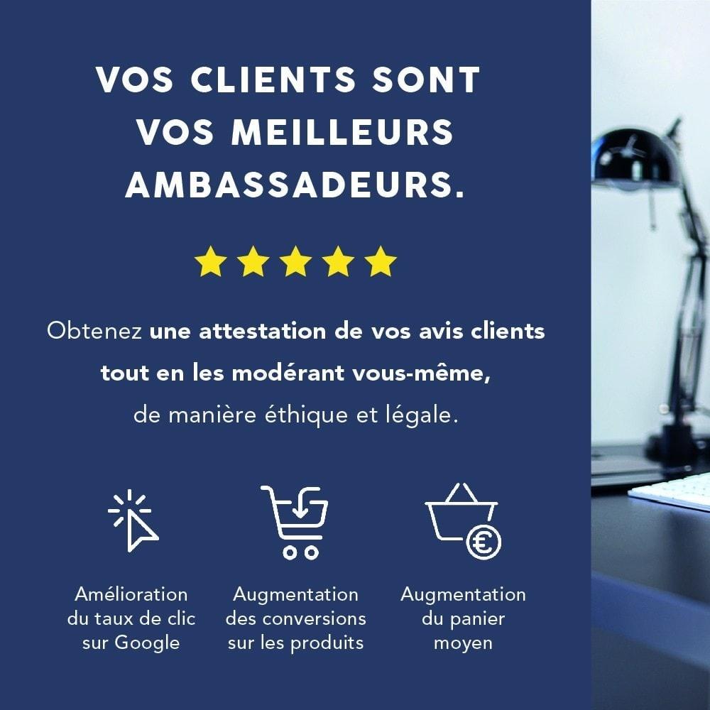 module - Avis clients - Avis clients - Société des Avis Garantis - 1