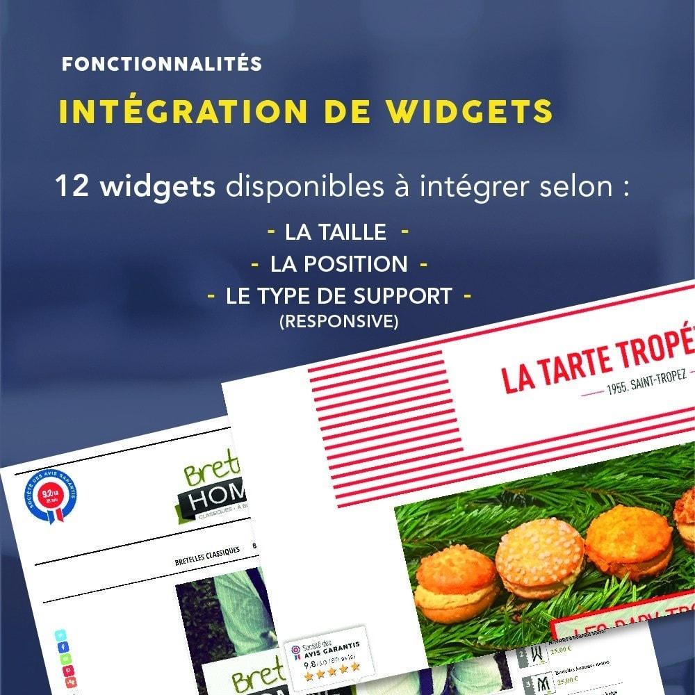 module - Avis clients - Avis clients - Société des Avis Garantis - 9