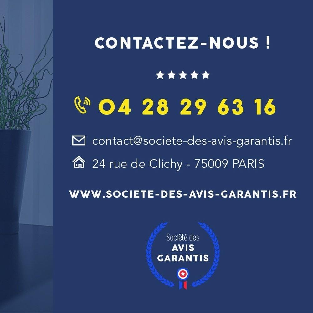 module - Avis clients - Avis clients - Société des Avis Garantis - 22