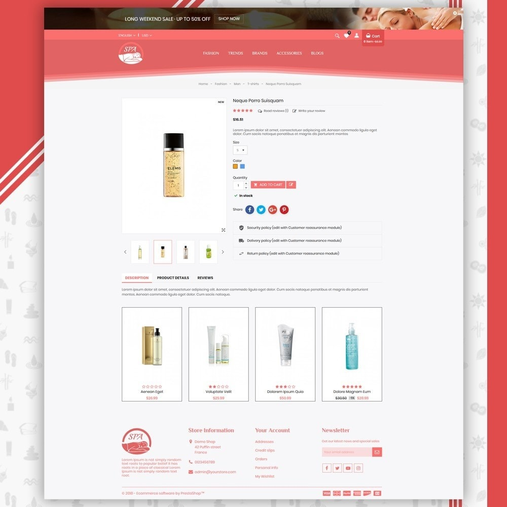 theme - Salute & Bellezza - Spa Shop - 4