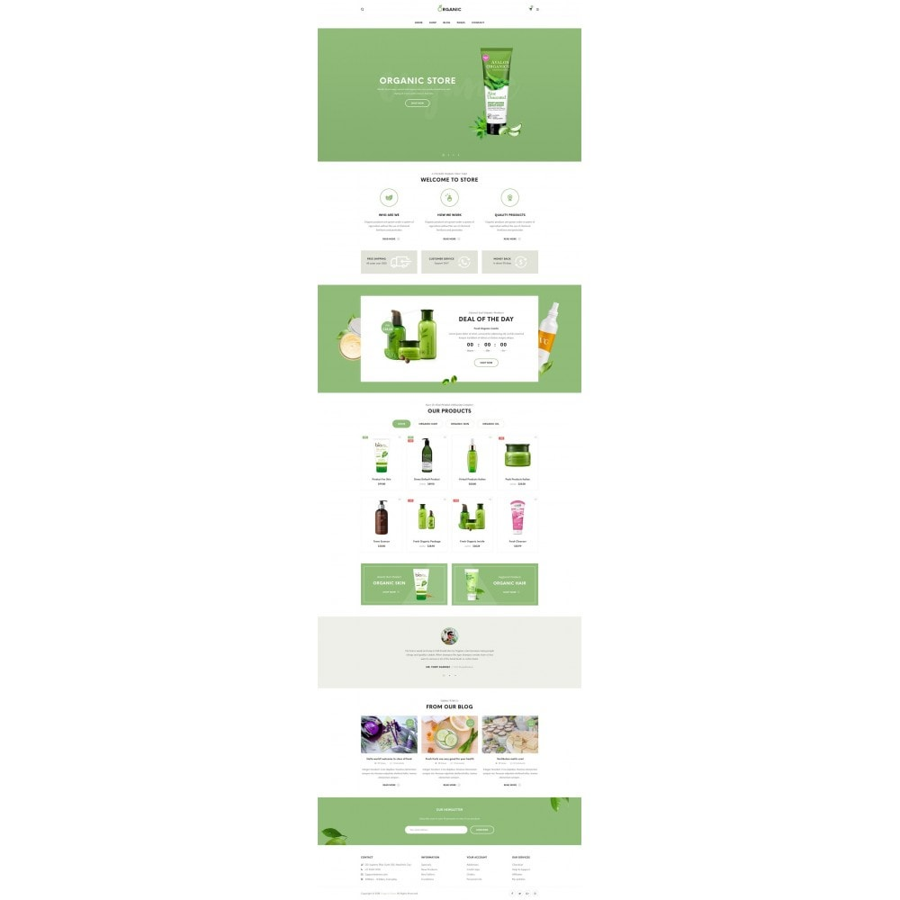 theme - Eten & Restaurant - Organic Shop - 6