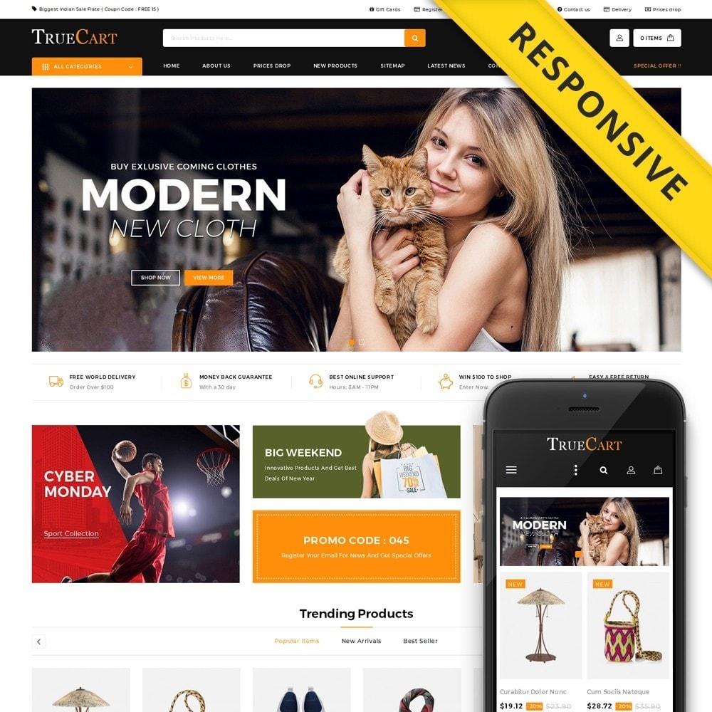 theme - Fashion & Shoes - TrueCart - Multipurpose Store - 1