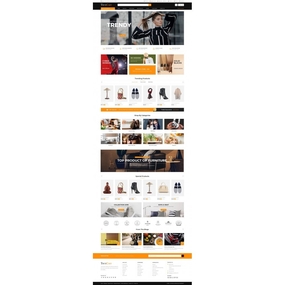 theme - Mode & Chaussures - TrueCart - Multipurpose Store - 2