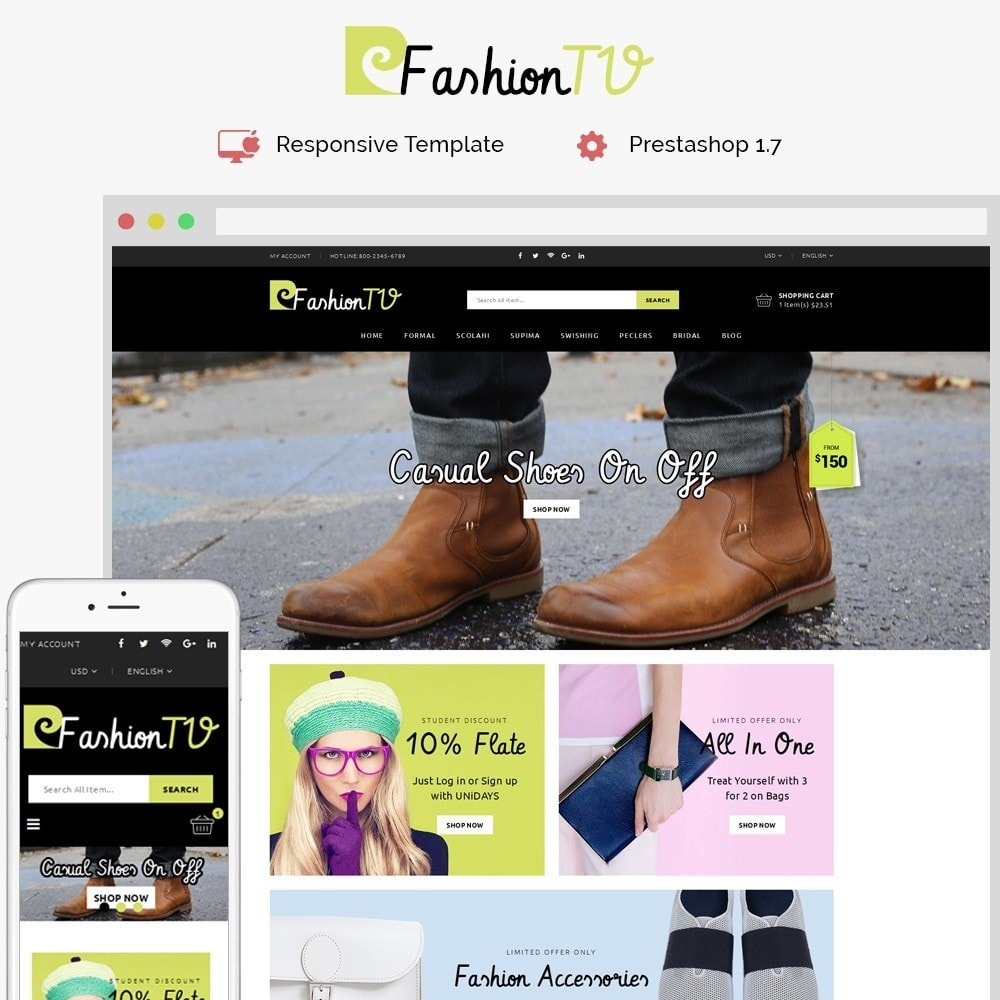 theme - Mode & Schoenen - Fashiontv Demo Store - 1