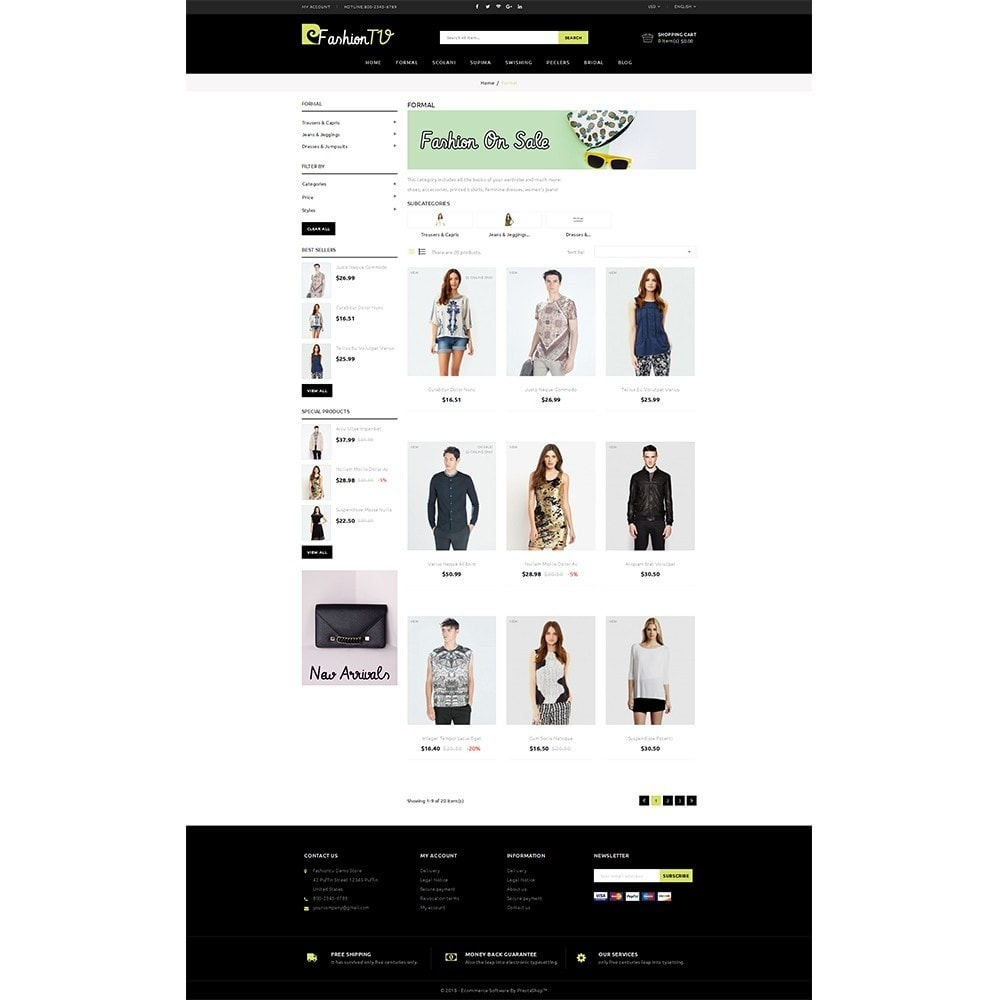 theme - Mode & Schoenen - Fashiontv Demo Store - 3