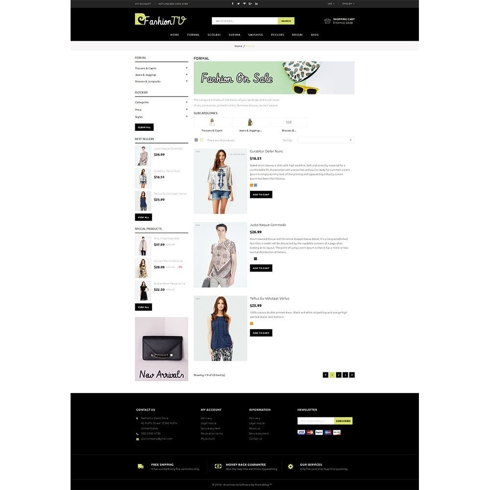 theme - Mode & Schoenen - Fashiontv Demo Store - 4