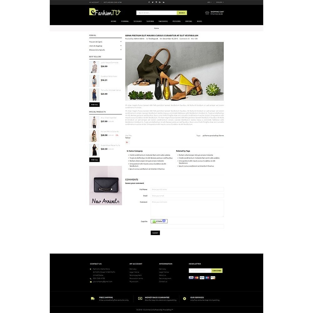 theme - Mode & Schoenen - Fashiontv Demo Store - 6