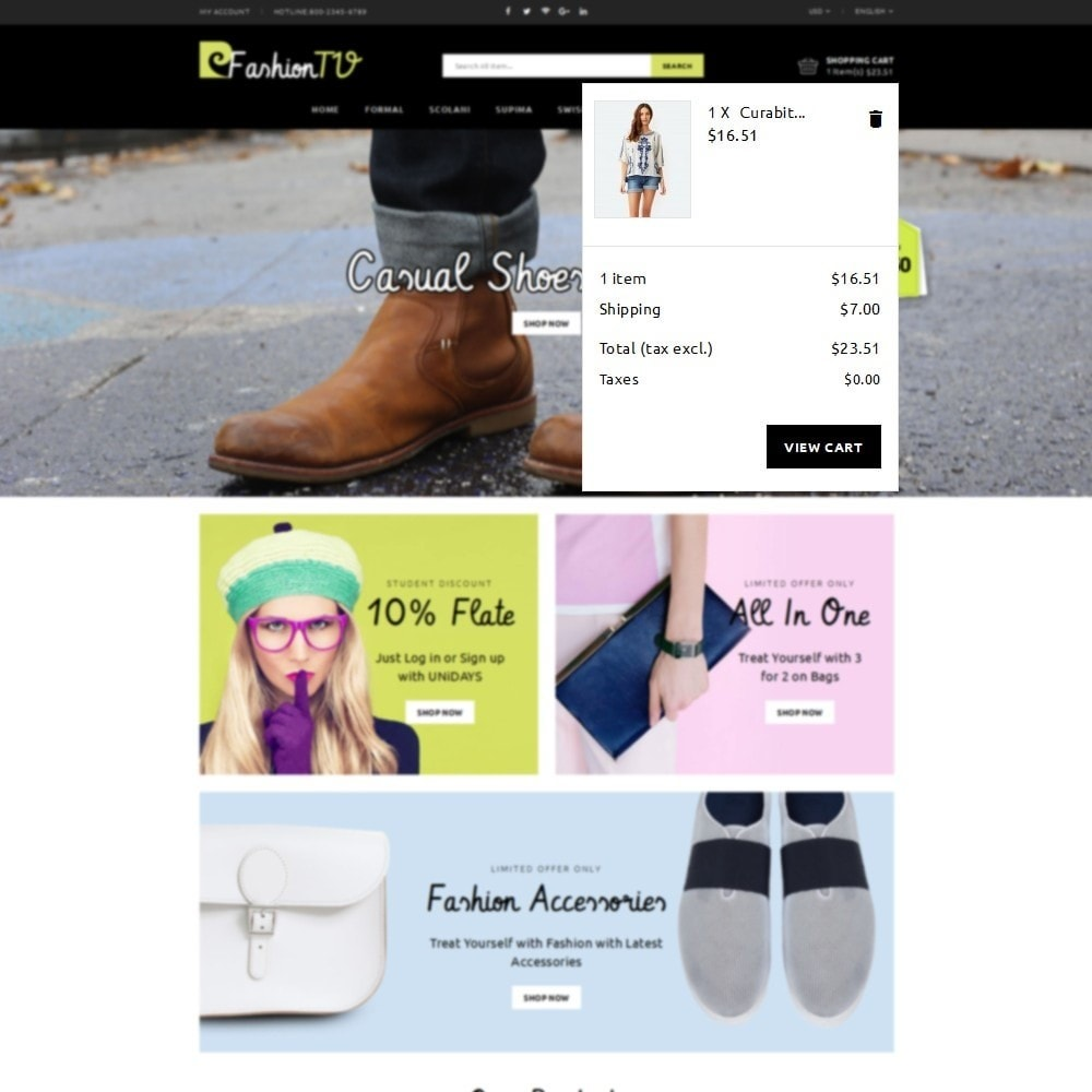 theme - Mode & Schoenen - Fashiontv Demo Store - 8