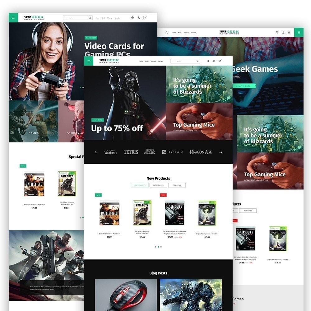 theme - Electrónica e High Tech - Geek - Game Store - 3