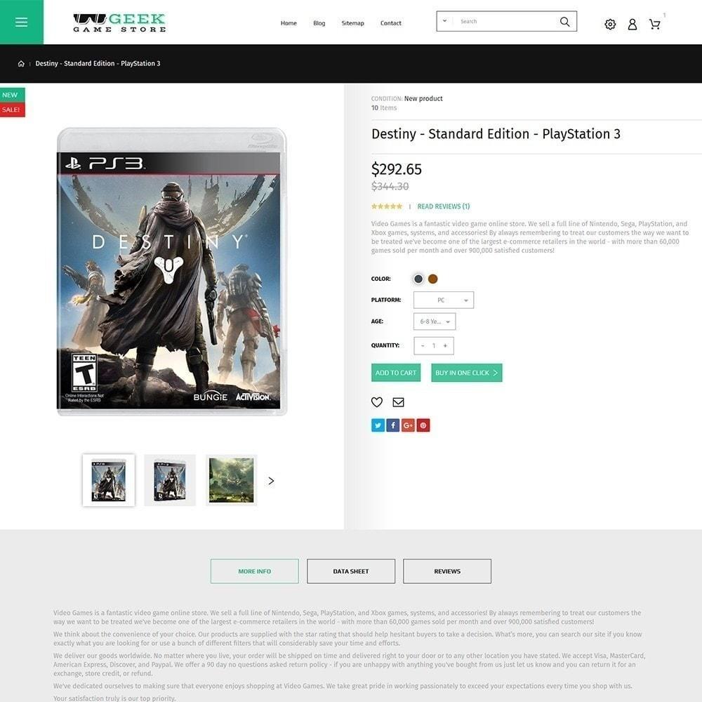 theme - Electrónica e High Tech - Geek - Game Store - 4