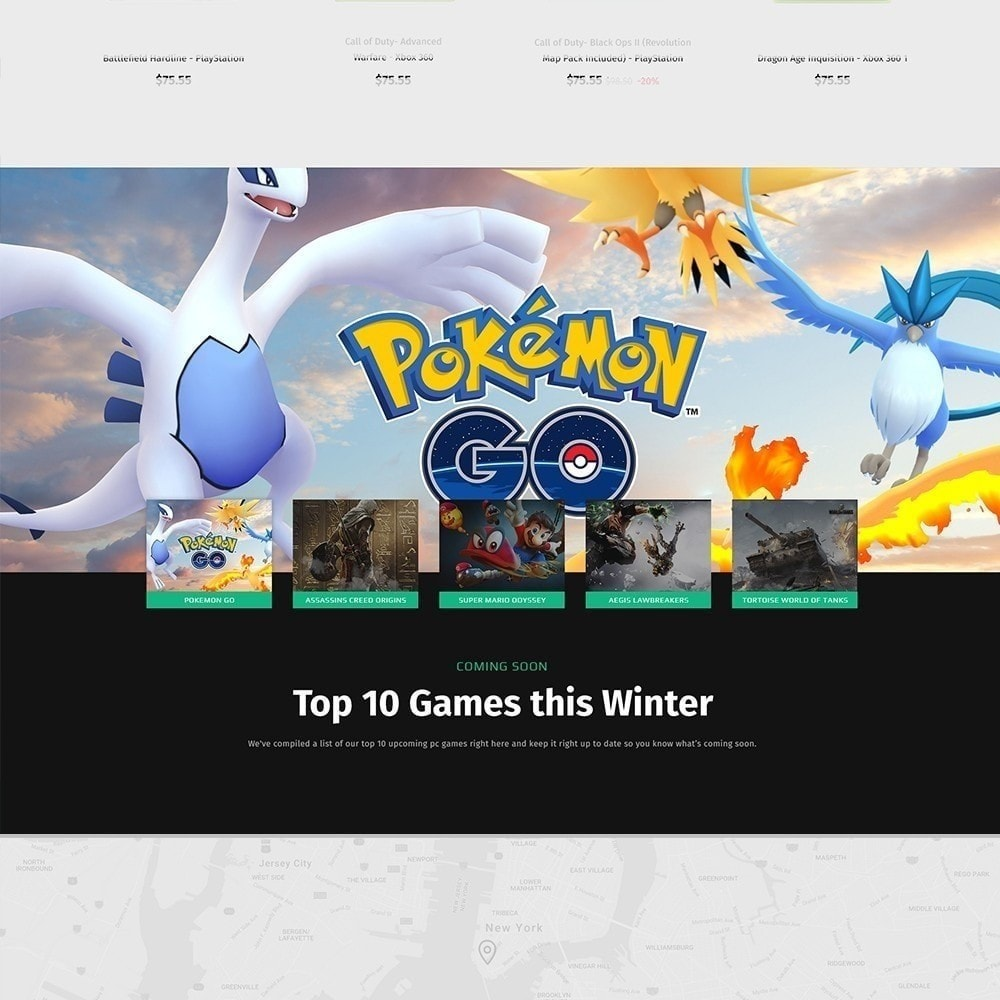theme - Электроника и компьютеры - Geek - Game Store - 7