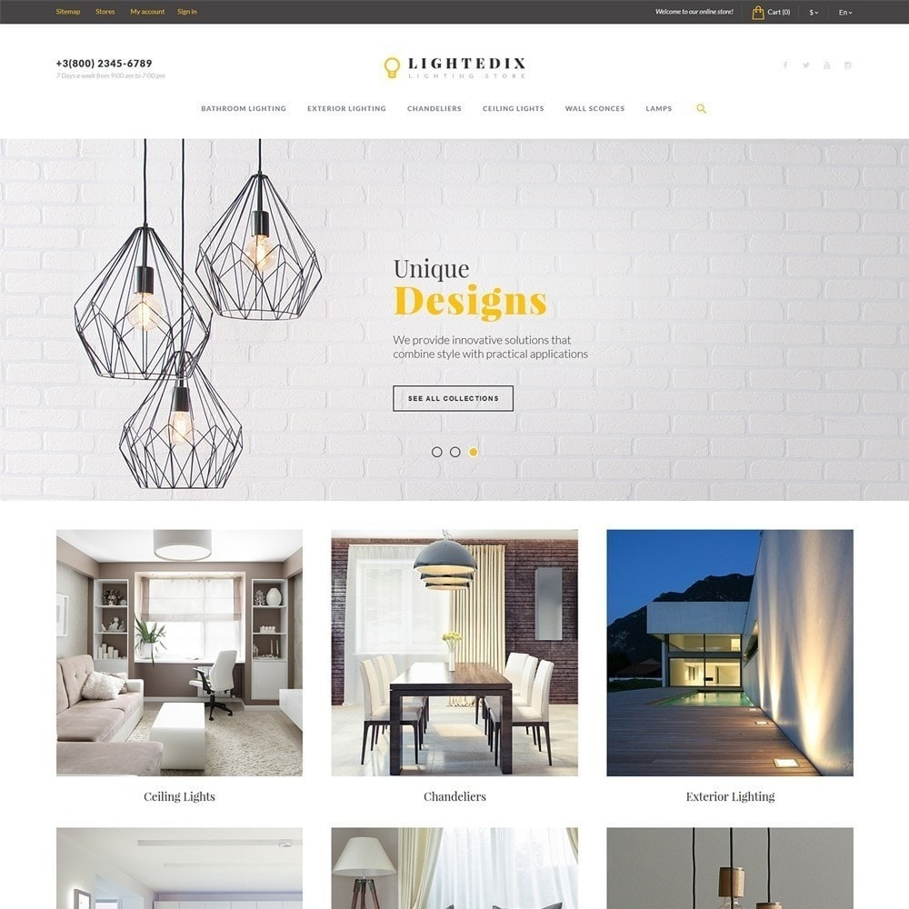 theme - Maison & Jardin - Lightedix - Lighting Store - 3
