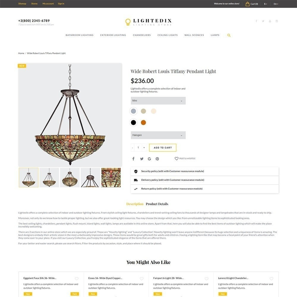 theme - Maison & Jardin - Lightedix - Lighting Store - 4