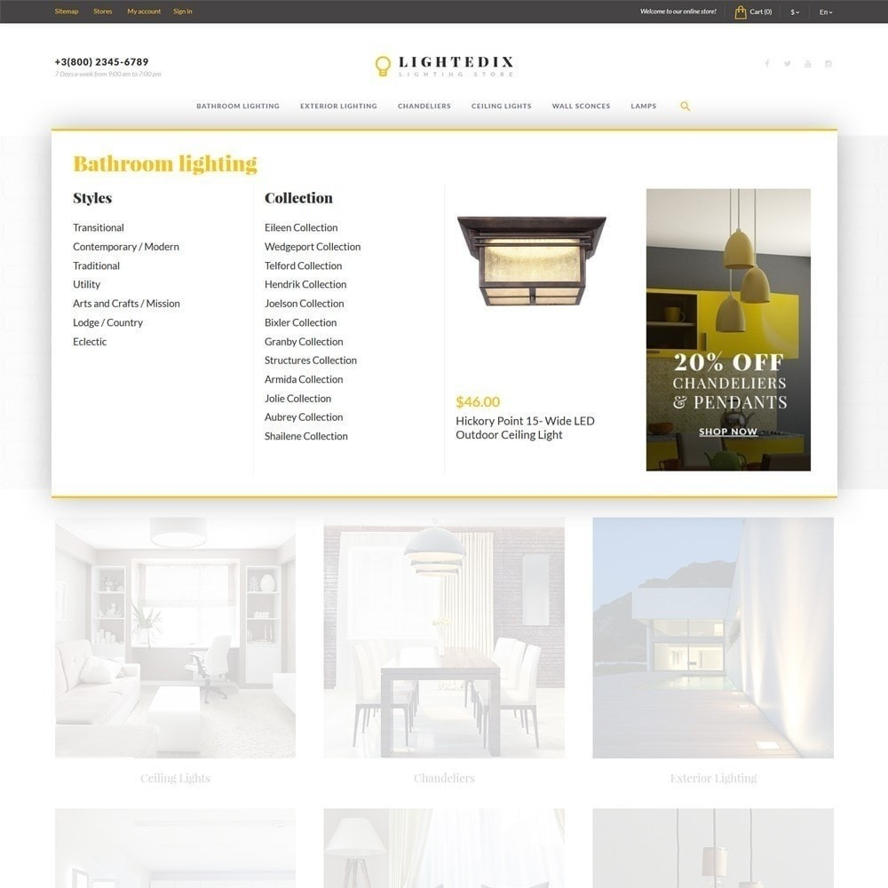 theme - Maison & Jardin - Lightedix - Lighting Store - 6