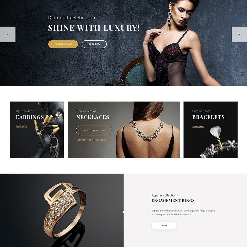 theme - Ювелирные изделия и Аксессуары - Eveprest - Jewelry Online Store - 3