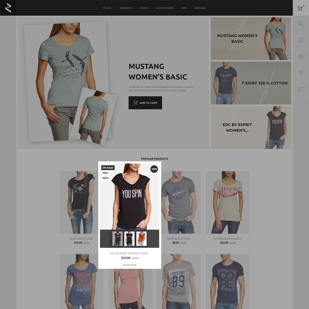 theme - Mode & Chaussures - T-Store - 4