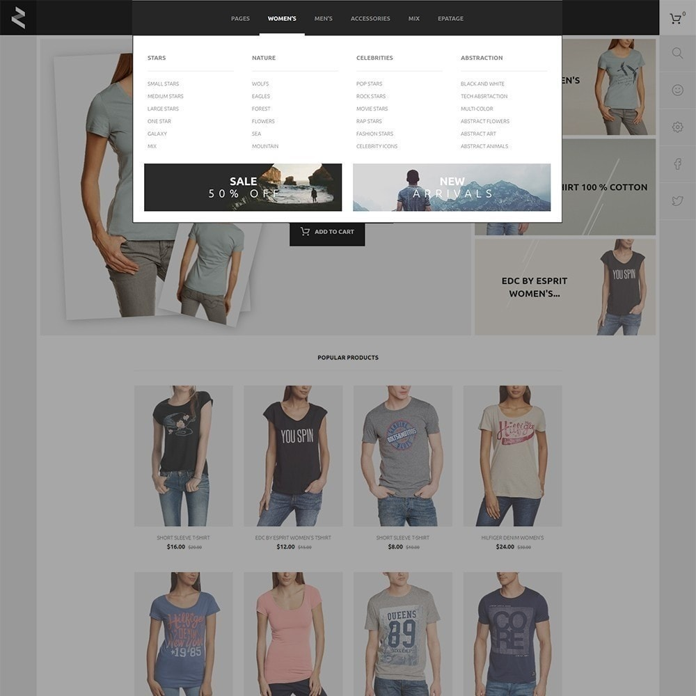 theme - Moda y Calzado - T-Store - 5